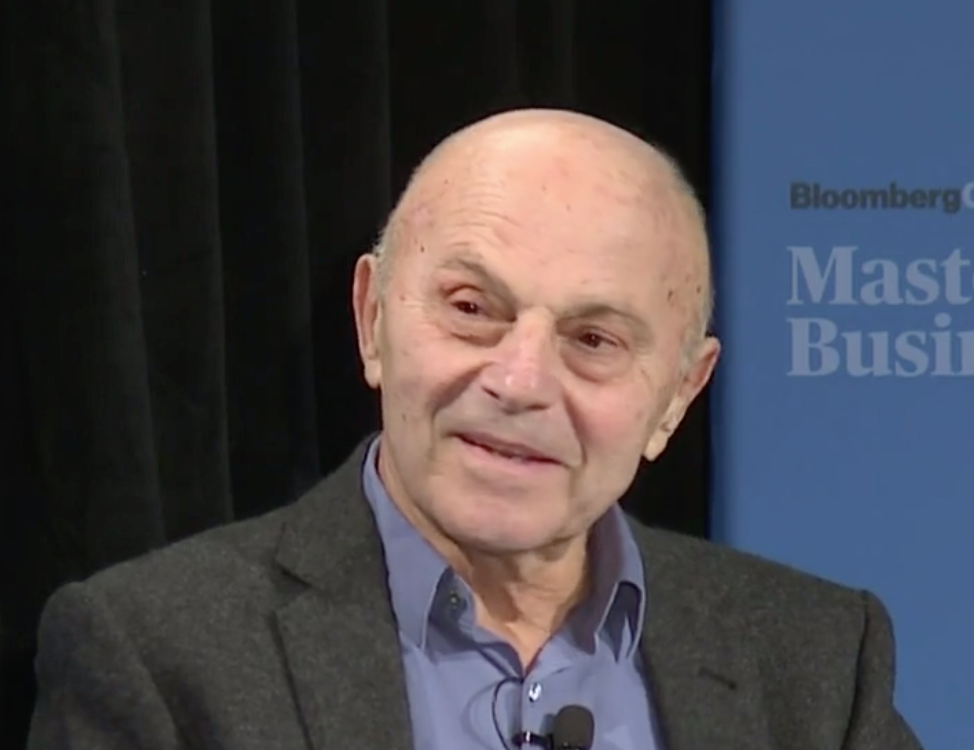 Eugene Fama, known for his research on the efficient market hypothesis